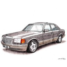 Tuning Mercedes S-class W126