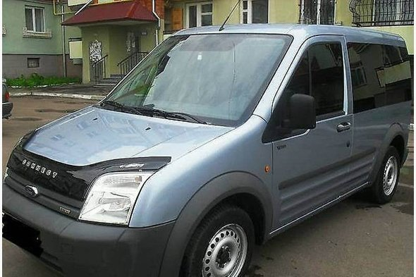 Ford Connect 2002-2006 Дефлектор капота VIP