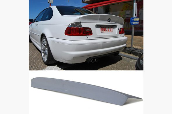 BMW 3 e46 Coupe Spoiler for painting