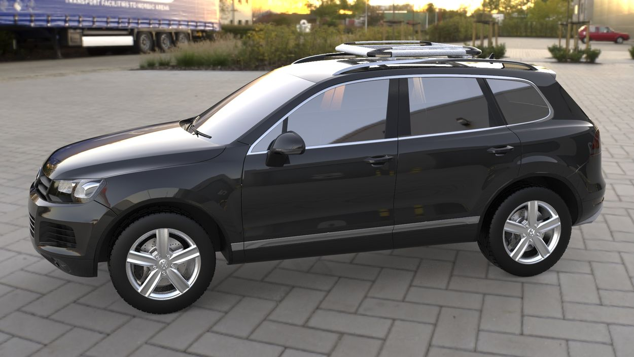 3D визуализация Opel Mokka 2012↗ gg Trunk with cross-beams and the grid (100cm to 120cm) фото 36°