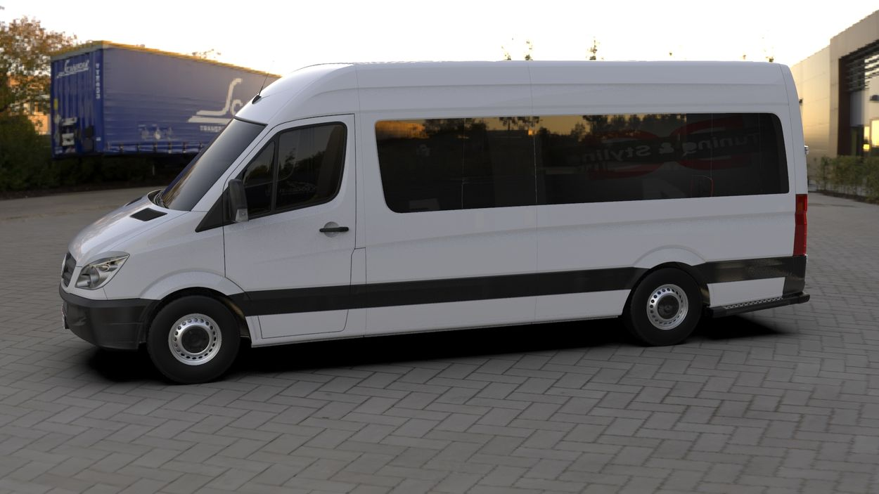 3D визуализация Merecedes Sprinter 906 Wimpern Straight ABS 2006-2013 фото 72°