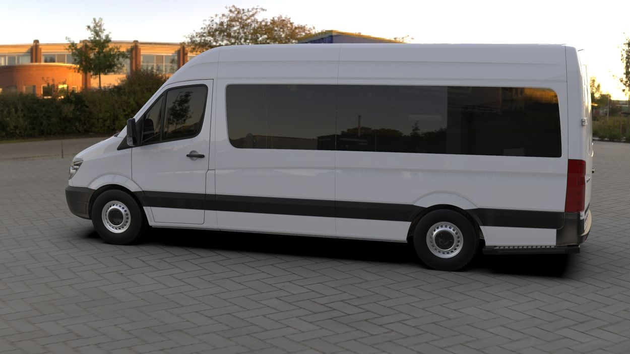 3D визуализация Merecedes Sprinter 906 Wimpern Straight ABS 2006-2013 фото 108°