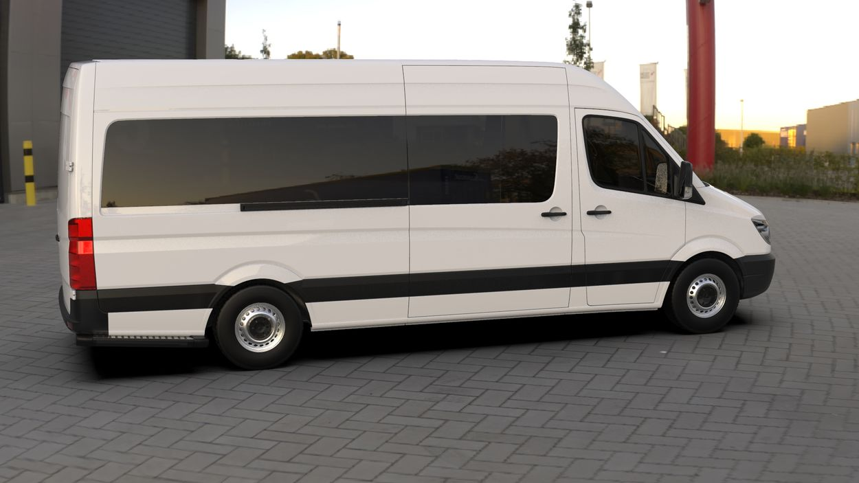 3D визуализация Merecedes Sprinter 906 Wimpern Straight ABS 2006-2013 фото 252°
