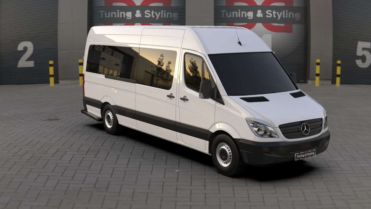 3D визуализация Merecedes Sprinter 906 Wimpern Straight ABS 2006-2013 фото 324°